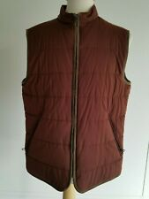 LORO PIANA Quilted Lined Storm System Vest | Rust | Italy