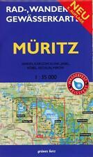 Müritz 1 : 35 000 Rad-, Wander- und Gewässerkarte (2015, Mappe)