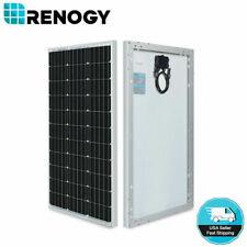 Open Box Renogy 80W Watts 12V Mono Solar Panel High Efficiency Module RV Camping