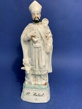 joli st hubert en faience  - lot 3