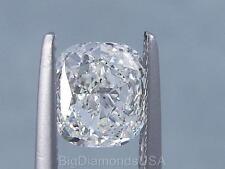 1.51 CARATS CUSHION CUT CERTIFIED LAB GROWN DIAMOND H SI1