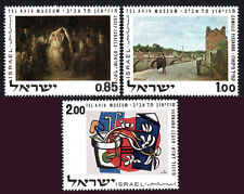 Israel 432-434, MNH. Paintings from Tel Aviv Museum, 1970