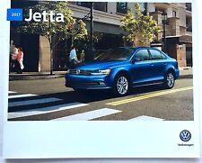 2017 VW Volkswagen Jetta and GLI 20-page Original Car Sales Brochure Catalog