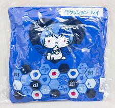 Evangelion × Hello Kitty Cushion Pillow Rei Ayanami Ver. Sanrio JAPAN ANIME