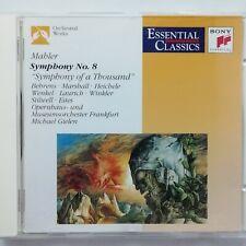 Mahler, Gustav: Symphony No. 8 / Behrens / Gielen etc. / Sony CD SBK 48281