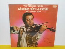 LP - SANDOR DEKI LAKADOS AND HIS GIPSY BAND - THE VIRTUOSO PRIMAS - SIGNIERT