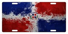 Rep Dominicana Flag Custom License Plate Dominican Emblem Paint Version # 5
