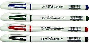 Gel Pens Aihao 801-a (4 pens)