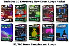 53000 Drum Loops Mega Pack 3 WAV Samples Ableton Cubase Logic FLStudio Pro Tools