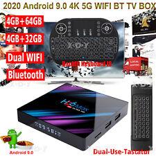 H96MAX 4+64GB Smart Android 9.0 TV BOX Tastatur RK3318 4K DE TV BOX Media Player