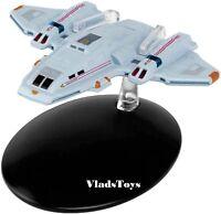 Star Trek Voyager Aeroshuttle Runabout #78 w/Magazine Eaglemoss