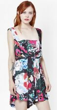 French Connction Floral Reef Playsuit Size 8 BNWOT Black Pink White
