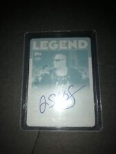 2016 Topps WWE Heritage Auto Printing Plate Jerry Sags 1/1
