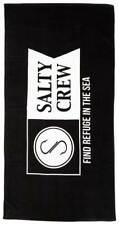 Salty Crew Alpha Refuge Towel - Black - New