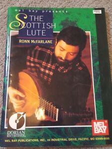 MEL BAY PRESENTS THE SCOTTISH LUTE MUSIC BOOK STANDARD GUITAR & TAB NEW ON SALE