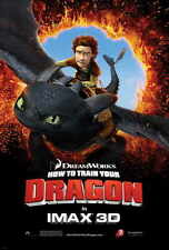HOW TO TRAIN YOUR DRAGON Movie Promo POSTER H