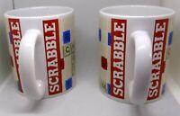 Hasbro Scrabble Game Coffee Tea Mug Set (2)