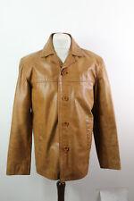 SARDAR Brown Leather Coat size L