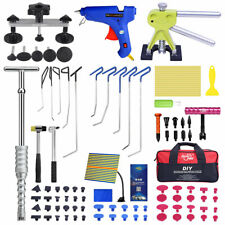 Super Pdr Auto Car Paintless Dent Repair Kits Puller Suction Glue Gun Hand Tools