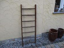 alte Holzleiter(113) Deco Blumenampel Baumleiter Handtuchhalter Kleiderhalter