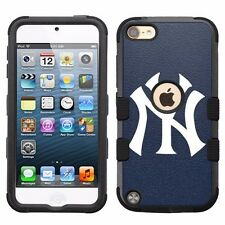 for Apple iPod Touch 5th 6th Impact Hybrid Cover Case New York Yankees #N
