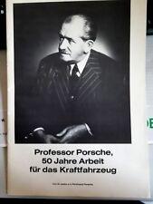 PROFESSOR PORSCHE 50 JAHRE ARBEIT FÜR DAS KRAFTFAHRZEUG VERSTORBEN JANUAR 1951