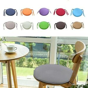 Round Garden Chair Pads Seat Cushion For Outdoor Bistro Stool Patio Dining Home~