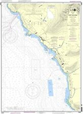 NOAA Chart Port Waianae Island of Oahu 9th Edition 19361
