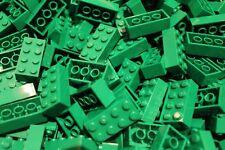 50 x Lego ® Brique/Pierre/Pierres 2x4 (3001) en Vert/Green Neuf