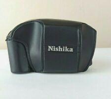 Nishika N8000 Leather Case –New W/O Box- CASE ONLY NO CAMERA Everready Style