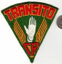 Vintage Military or Police Patch Costa Rica? Transito CR.