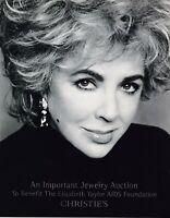 ELIZABETH  TAYLOR   Jewelry Tiffany Bulgari JAR  CHRISTIE'S 2002  AIDS  BENEFIT