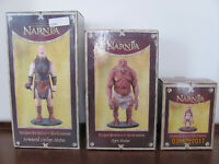 The Chronicles of Narnia Ogre statue, Armoured Cyclops statue and Boggle Statue