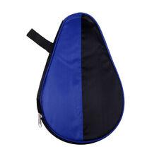 blau-schwarz Rojan Tischtennisschlägerhülle Schlägerhülle Ballfach