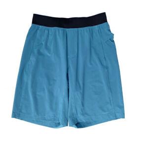 Mens Lululemon Shorts Seafoam Blue And Black Size  Medium