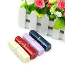 Useful Secret Lipstick Stash Shaped Medicine Pill Pills Box Holder Organizer