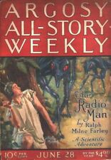 Pulp reprint THE RADIO MAN by Ralph Milne Farley - 1924 ARGOSY serial facsimile