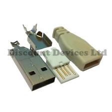 Usb-a 4p plug/housing para el hogar hecho montado Cable