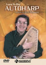 Learn to Play Autoharp Dvd Instructional Folk Instrmt Dvd New 000641841