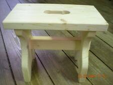 SGABELLO legno massiccio acero abete super resistente sgabellino seggiolina