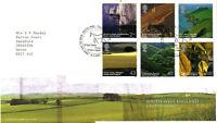 8 FEBRUARY 2005 SOUTH WEST ENGLAND ROYAL MAIL FIRST DAY COVER BUREAU SHS v