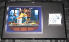 Regis Philbin The Simpsons Signed Framed 11x17 Photo Display JSA