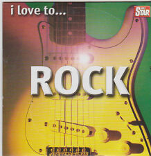 I LOVE TO ROCK PROMO CD HIVES STRANGLERS MOTORHEAD CHEAP TRICK ADVERTS A COOPER