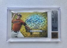 Kevin Gausman 2012 Bowman Sterling Gold Diamond Auto 1/1  BGS 9 Braves