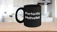 Methodist Mug Black Coffee Cup Gift for Pastor Elder Teacher Worship Leader