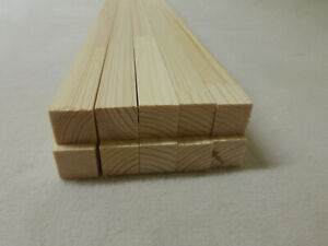 1Stk  100cm Quadratleiste Kiefer 20x20mm Vierkant Holzleisten