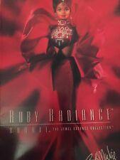 RUBY RADIENCE DESIGNER BOB MACKIE BARBIE IN ORIGINAL BOX