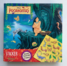 1990's NEW SEALED DISNEY'S POCAHONTAS Sticker Puzzle 70 Pieces 44742-2 Walt Tree