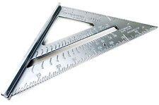 """7"""" velocità Alluminio Roofing Rafter Quadrato Misura Angolo Triangolo Guida Utensile WW023"""