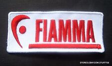 """FIAMMA EMBROIDERED SEW ON PATCH RV AWNINGS COMPANY ADVERTISING 3 1/4"""" x 1 1/4"""